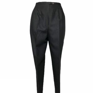 NWT Morton Bernard Wool Tapered Leg Dress Pants